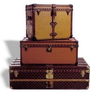 Legendary Louis Vuitton Trunks}  simplicityisultimatesophistication
