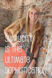 SimplicityistheUltimateSophistication